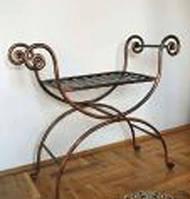 Кованый стул для дачи 31