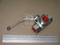 Кран шаровой гидравлический 3х ходовой 1/2x1/2x1/2 (производство Агро-Импульс.М.), ACHZX
