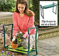 Скамейка-подставка под колени для огорода и дачи