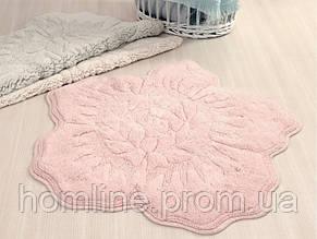 Коврик для ванной Irya Rosalinda 100*100 розовый