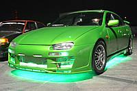 Подсветка днища автомобиля—универсальная!Цвет Зеленая.