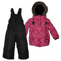 Зимний комплект для девочки X-trem by Gusti  XWG 4801 DARK PINK. Размеры 92 и 98 .