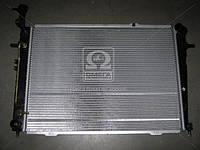 Радиатор охлаждения HYUNDAI TUCSON (JM) (04-) 2.0 AT (производство Van Wezel), AGHZX