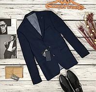 Синий жакет для сильного мужчины от ZARA  JC51122
