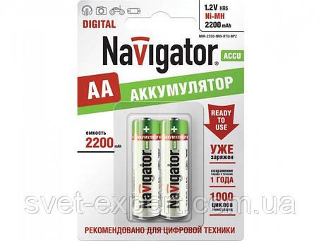 Аккумулятор Navigator 94462 NHR-1000-HR03-BP2, ААА, Ni-MH, 1000 mAh, фото 2