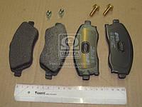 Колодка тормозная OPEL CORSA C (F08, F68) передняя (производство REMSA) (арт. 0774.12), rqv1