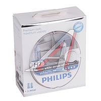 Лампа накаливания H7 12V 55W PX26d XENON effect (пр-во Philips)