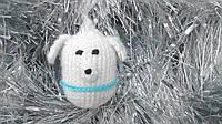 Новогодняя игрушка ручной работы на елку Собака Символ Года!