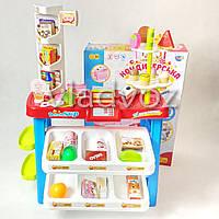 Детская витрина игрушечный магазин прилавок набор кондитерская для детей
