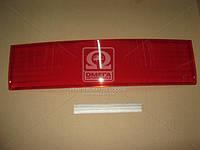 Накладка (катафот) крышки багажника между фонарями красный ВАЗ 2110 (производство ОАТ-ДААЗ) (арт. 21100-821252600), AAHZX
