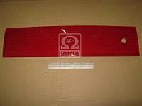 Накладка (катафот) крышки багажника между фонарями красный ВАЗ 2112 (производство ОАТ-ДААЗ) (арт. 21120-821252600), AAHZX