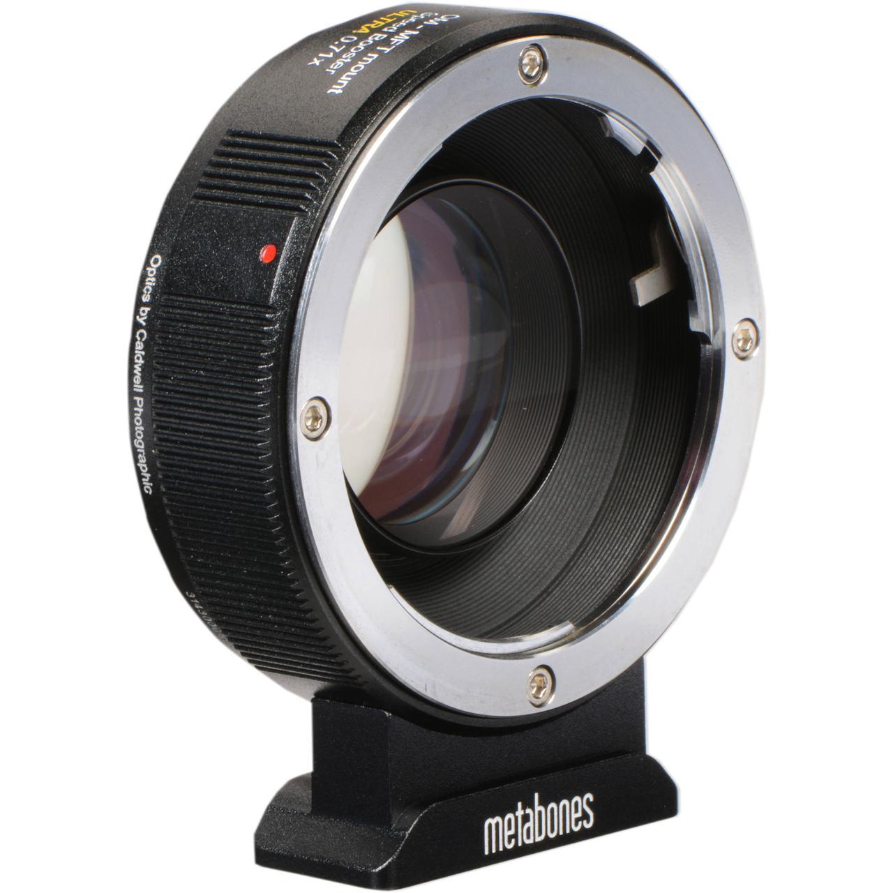 Metabones Ultra 0 71x Adapter for Olympus OM-Mount Lens to Micro Four  Thirds-Mount Camera (MB_SPOM-M43-BM3): продажа, цена в Киеве  конвертеры,
