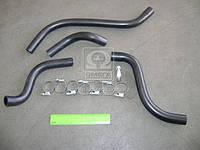 Патрубки отопителя ВАЗ 2108 (шланги 4шт + хомут) №87РШХ (производство БРТ) (арт. Ремкомплект 87РШХ), ABHZX