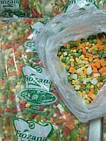 Заморожені овочеві суміші, 9 ти компонентна суміш 4 x 2,5 кг BIMIZ