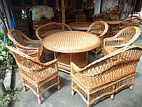 Плетеная мебель из лозы. Простый 10