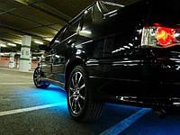 Подсветка днища автомобиля—голубой(один цвет)