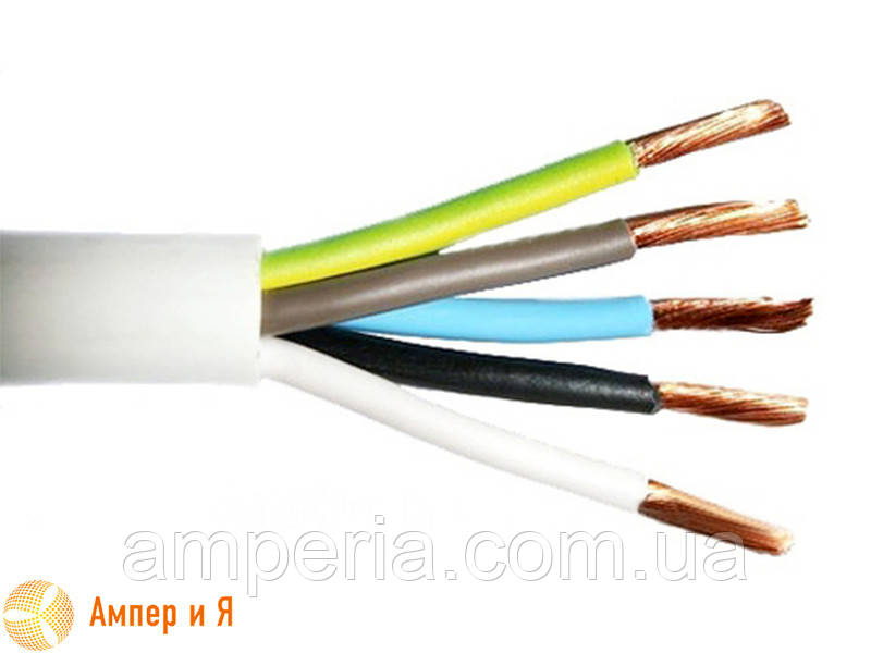 ПВС 5х2,5 провод, ГОСТ (ДСТУ)