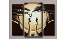 """Модульная картина на холсте """"Африка 4"""""""