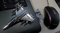 """Флешка """"Самолет"""" 8 ГБ USB Memory Stick"""