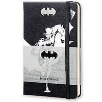 Блокнот Moleskine Лимитированный Batman Чёрный Нелинованный (LEBA01QP012)