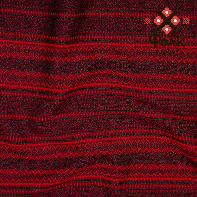 Ткань для плахт с украинской вышивкой Винтаж ТДК-70 2/2
