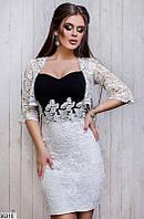 Платье женское + болеро