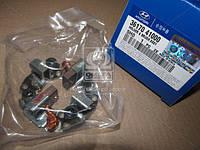 Щётки стартера Hyundai Hd35/hd75 04-/Kia K3600/3600Ii 00- (производство Mobis) (арт. 3617041000), ABHZX
