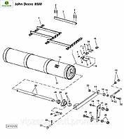 AH138187 транспортер наклонной камеры John Deere 9500