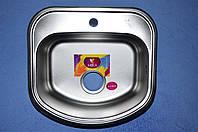 Мойка врезная для кухни 490*460*180 MIRA сатин