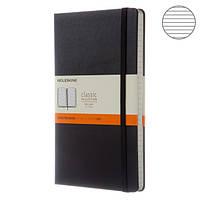 Блокнот Moleskine Classic Средний Линия Черный (QP060)