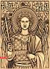 Архангелы резные иконы. Икона резная Архангел Михаил №7