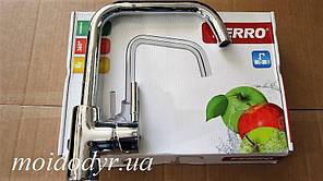 Смеситель для кухонной мойки Ferro Capella хром