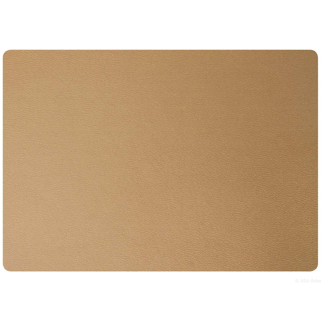 Підкладка під тарілку сервірувальна Asa 46*33 см шкіра бронза 7813420