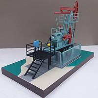 Макет. Нефтяной насос-качалка. В наличии