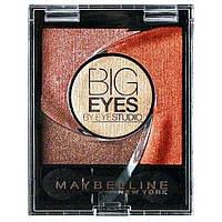 Тени для век Maybelline Big Eyes by Eyestudio 01 коричневый