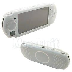 Силиконовый чехол для Sony PSP 3000/2000 Белый