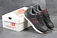 New Balance 574 мужские кроссовки черные