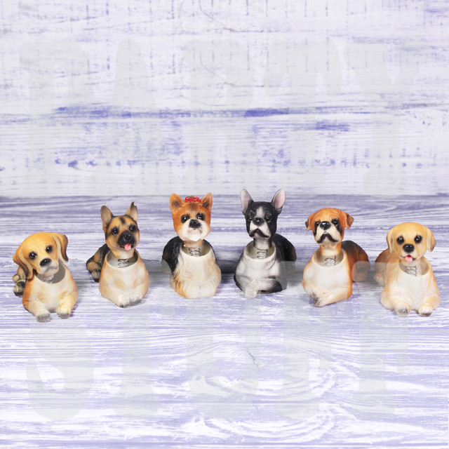 набор статуэток собаки