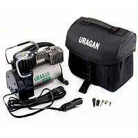 Автокомпресор URAGAN 90135, 7Amp / 37л. Автостоп