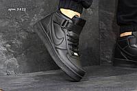 Кроссовки мужские Nike Air Force. Черные