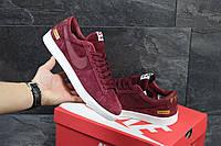 Мужские кроссовки Nike Supreme красные