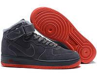 Кросівки Зимові Nike Air Force High Мех