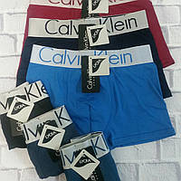 Мужские трусы Calvin Klein boxer Lykra(12шт/уп) ХL