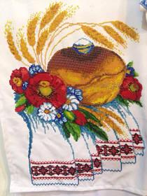 Заготовки для вишивки весільних рушників бісером або нитками