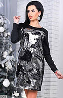 Платье двусторонняя пайетка