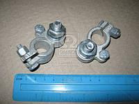 Клемма аккумулятора 1 шт. (свинец) МОТО (30 гр.) (арт. 11-3703210-20)