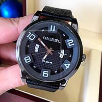 Часы DIESEL черные+черный циферблат