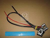 Провод АКБ ЗАЗ-1102 ТАВРИЯ (свинец) 10 мм.кв (производство Альфа Сим) (арт. 15511), AAHZX