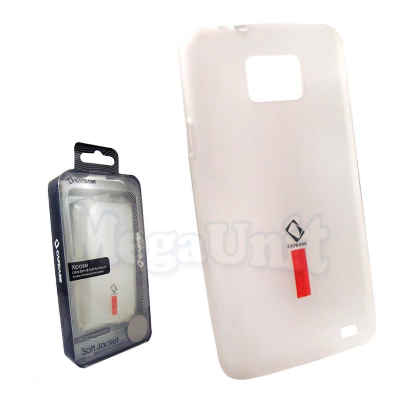 Capdase. Силиконовый чехол для Samsung i9100 Galaxy S2