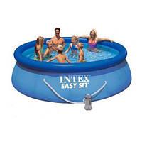 Надувной бассейн Intex 28122 305 х 76 + насос. Отличное качество. Доступная цена. Дешево. Код: КГ2815